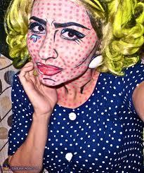 Pop Art Halloween Costume Ideas 196 Face Painting Halloween Images