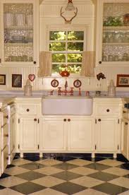 excellent two tone style kitchen with cream color wooden kitchen