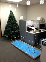 Ideas For Decorating An Office Work Cubicle Christmas Decorating Ideas