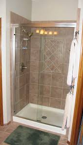 Shower Stalls For Small Bathrooms Mobile Home Shower Stall Showers For Small Bathrooms This Is Our