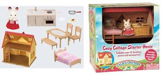 Calico Critters Play Table by Critters Cozy Cottage 15 Pc Playset Cc2055