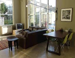 living dining room combo decorating ideas photo 2 rustic small