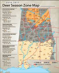 alabama zone map alabama laws and regulations survival