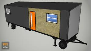 big tiny house with mega slideout plans big tiny house
