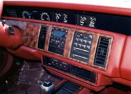 mitsubishi cordia interior buick regal automobiles digital dashboards of the 1980 u0027s