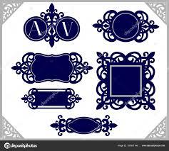 Super Conjunto Elemento Design Emblema Vintage Modelo Quadro Decorativo  @KJ13