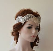 vintage hair accessories wedding lace headband wedding hair accessory bridal headband