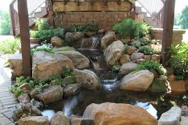 disappearing pondless waterfall contrcator nc youngsville wake