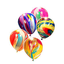 balloon delivery baton led light up balloons party favors tie dye edition 5