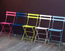 Folding Bistro Chairs Fermob Bistro Folding Chair Stolicka Na Balkon Garden