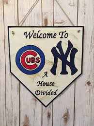 home plate sign cubs sign new york yankees sign a house zoom