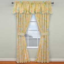 Coral Valance Curtains Buy Blue Coral Valance From Bed Bath U0026 Beyond