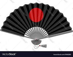folding fan folding fan royalty free vector image vectorstock