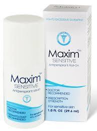 amazon com maxim sensitive anti perspirant deodorant clincal