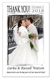 wedding photo thank you cards thank you photo magnets