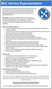 Job Description Call Center Automotive Bdc Manager Job Description Resume Sample