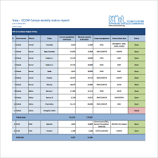 project status report template in excel weekly status report template 17 free documents in