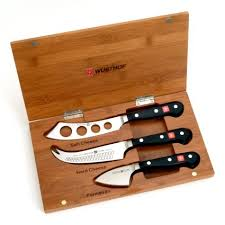 wusthof kitchen knives wüsthof classic 3 cheese knife set sur la table