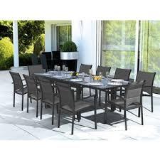 table salon de jardin leclerc table de jardin verre leclerc
