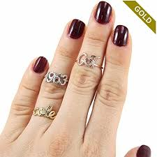 gold name ring 14k gold custom name ring personalized name ring