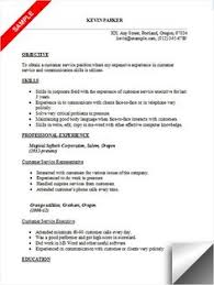 Objective Resume Examples Customer Service by Customer Service Skills Resume Examples Sample Resume Center