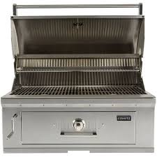 Patio Classic Charcoal Grill by Coyote C1ch36 36 Inch Built In Stainless Steel Charcoal Grill