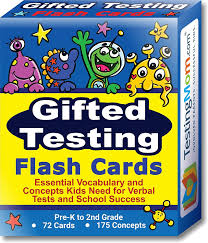 amazon com gifted testing flash cards u2013 practice for cogat test