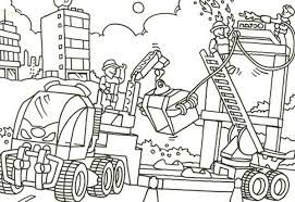 lego duplo construction job area coloring pages batch coloring