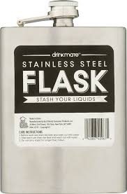 His And Her Flasks Drinkmate Stainless Steel Flask 1 0 Ct Walmart Com