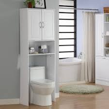 bathroom shelving units white polished wooden vanity cabinet