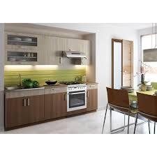cuisine erable clair cuisine complète agate bicolore clair foncé 2m achat vente