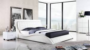 french design luxury comfortable leather bed 2014 modern a019