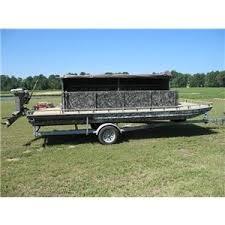 Floating Duck Blind For Sale Go Devil Duck Hunting Boat Ad 60454