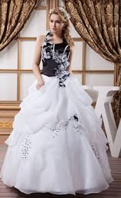 black and white wedding dresses cheap black and white wedding dresses for sale at wholesale price