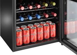 black friday wine fridge insignia 16 bottle wine cooler black ns wc16bk6 best buy