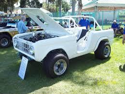 white bronco car 70 u0027s sand drag ford bronco restoration finished off road action