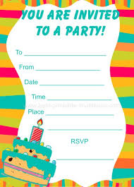 party invitations free printable birthday party invitations lijicinu 8cc98af9eba6