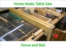 diy biesemeyer table saw fence homemade table saw fence youtube