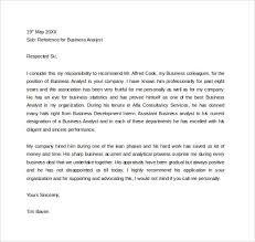 ideas of free business reference letter sample on format layout