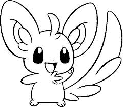coloring pages pokemon minccino drawings pokemon