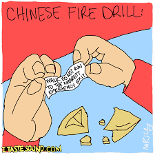 Fire Drill Meme - chinese fire drill i taste sound