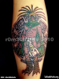 aztec tattoo art and designs page 8