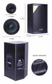 china home theater ps 8 professional speakers 150 300w harga speaker rcf china