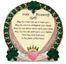 amazon com irish blessing plaque desktop plaque stone look