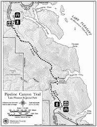 lake pleasant map lake pleasant regional park pipeline trail map yourhikes