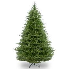 unlit artificial christmas trees national tree unlit 7 1 2 feel real spruce hinged