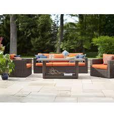 hampton bay patio conversation sets outdoor lounge furniture