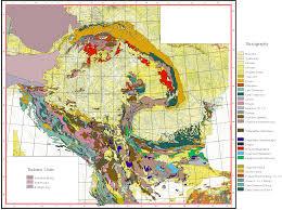 Map Of Balkans Geology Of The Carpathian Balkan Area