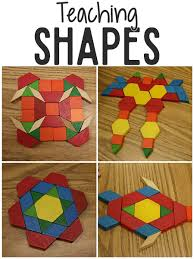 teaching shapes in pre k prekinders