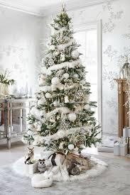 astonishing winter white tree design decorating ideas
